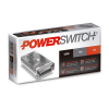 Caja de fuente LED 12V 120W 10AMP metálica Powerswitch - Macroled