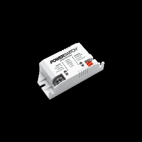 Fuente LED 12V 12W 1AMP gabinete plástico Powerswitch - Macroled