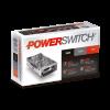 Caja de fuente LED 12V 150W 12AMP metálica Powerswitch - Macroled