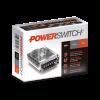 Caja de fuente LED 12V 50W 4AMP metálica Powerswitch - Macroled
