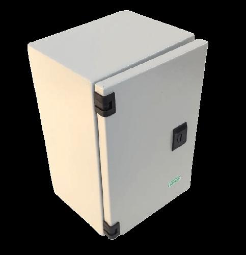 Gabinete estanco metálico 20x30x15 - Genrod