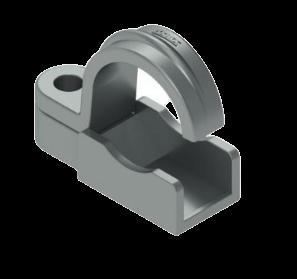 Grampa de aluminio - Daisa