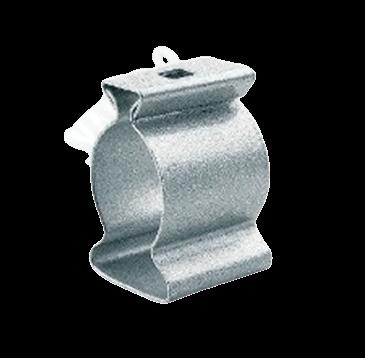 Grampa de aluminio galvanizada - Daisa