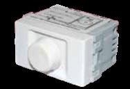 Módulo blanco variador de ventilador, línea Verona - Jeluz