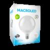 Caja de lámpara LED 18W globo G120 luz fría - Macroled