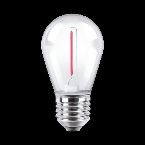 Lámpara LED 1W Deco Color! rojo - Macroled