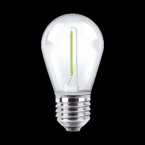Lámpara LED 1W Deco Color! verde - Macroled