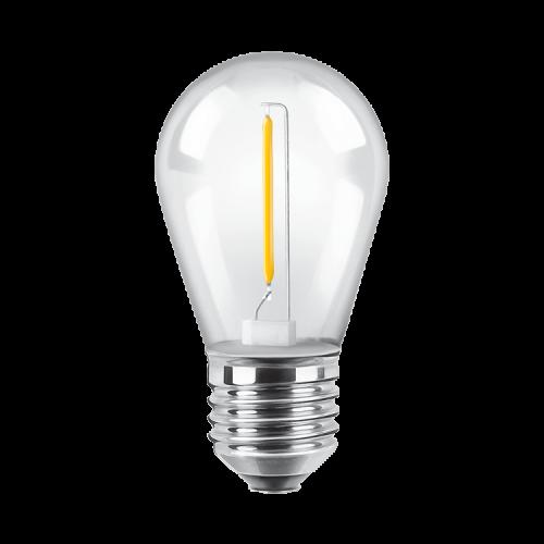 Lámpara LED 1W Gota Deco luz cálida - Macroled