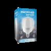 Caja de lámpara LED bulbón 20W E27 luz fría - Macroled