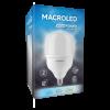 Caja de lámpara LED bulbón 40W E27 luz fría - Macroled