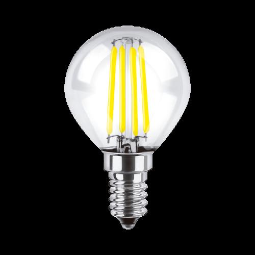 Lámpara LED 4W Gota Deco E14 luz cálida - Macroled