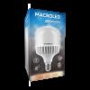 Caja de lámpara LED bulbón 60W E40 luz cálida - Macroled