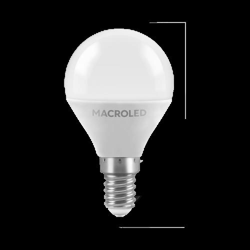 Lámpara LED 6W Gota E14 - Macroled