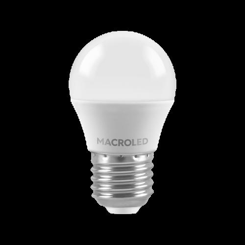 Lámpara LED 6W Gota E27 - Macroled