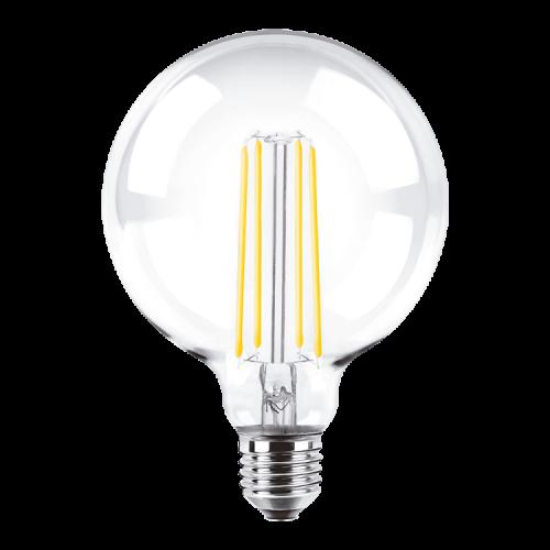 Lámpara LED 8W Globo Deco G125 luz cálida - Macroled