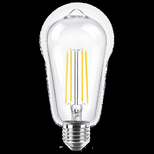 Caja de lámpara LED 8W Vintage Deco E27 luz cálida - Macroled