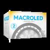 Caja de lámpara LED AR111 11W GU10 PVC luz cálida - Macroled