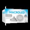 Caja de lámpara LED AR111 15W Aluminio PVC DIM luz fría - Macroled