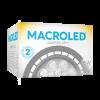 Caja de lámpara LED AR111 15W GU10 PVC luz cálida - Macroled