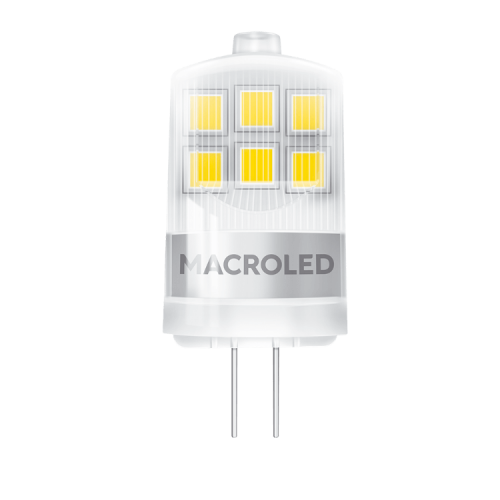 Lámpara LED bi pin 2W G4 - Macroled