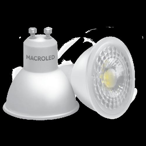 Lámpara LED dicroica 7W GU10 - Macroled