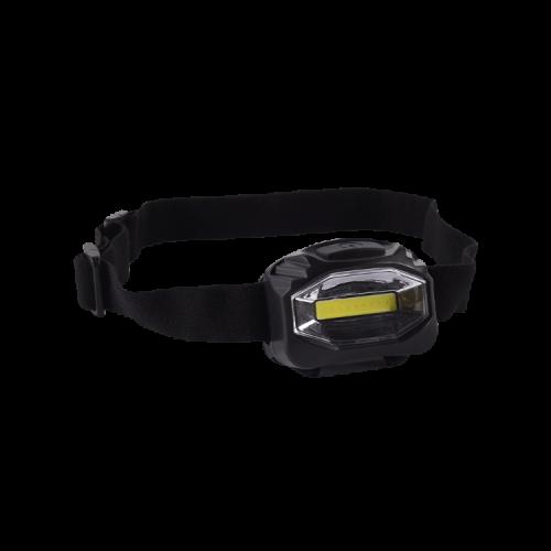 Linterna vincha negra LED 3W - Macroled