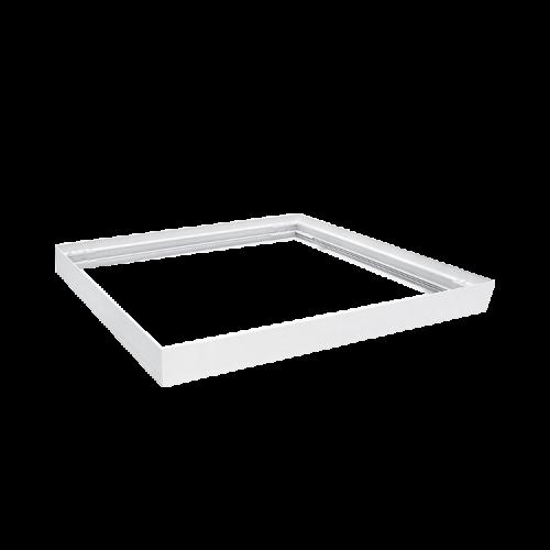 Marco LED aluminio blanco para plafón 60x60 - Macroled