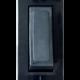 Perilla de velador rectangular negra, con neón - Kalop