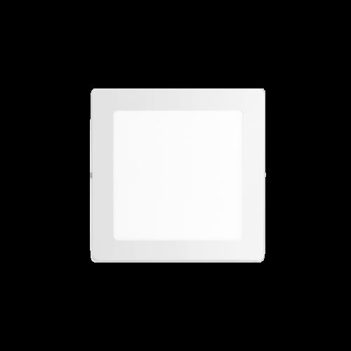 Plafón cuadrado 12W color blanco - Macroled