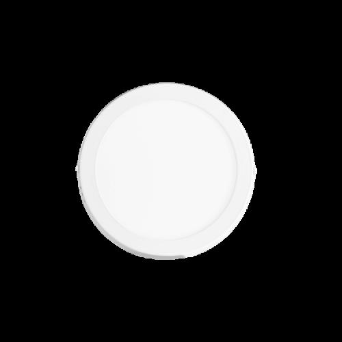 Plafón redondo 12W color blanco - Macroled