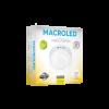 Caja plafón redondo 12W color blanco luz cálida - Macroled
