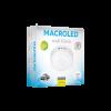 Caja plafón redondo 12W color blanco luz fría - Macroled