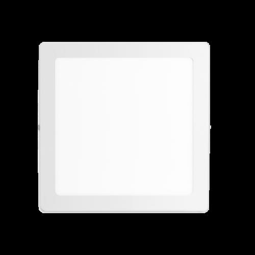 Plafón cuadrado 18W color blanco - Macroled