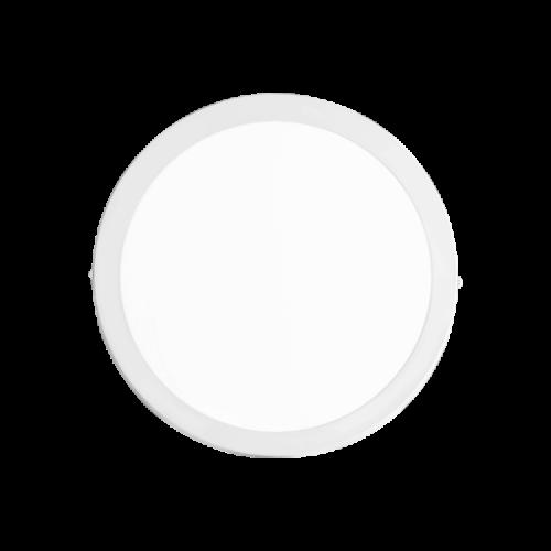 Plafón redondo 18W color blanco - Macroled