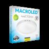 Caja de plafón redondo 18W color blanco luz fría - Macroled