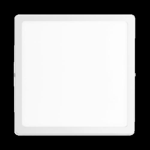 Plafón cuadrado 24W color blanco - Macroled