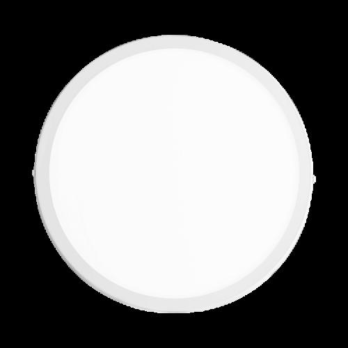Plafón redondo 24W color blanco - Macroled
