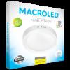 Caja de plafón redondo 24W color blanco con luz fría - Macroled