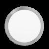 Plafón redondo 24W color platil - Macroled