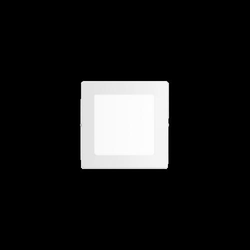 Plafón cuadrado 6W color blanco - Macroled