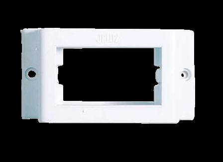 Portamódulo blanco - Jeluz