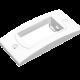 Portamódulo blanco extrachato - Jeluz