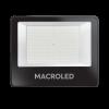 Reflector 200W IP65 luz fría foto frente - Macroled