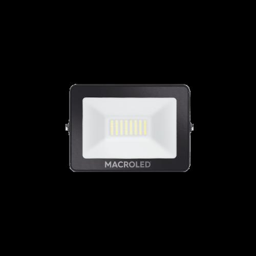 Reflector LED 30W luz fría foto frente - Macroled