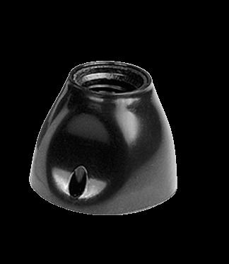 Receptáculo recto negro - San Justo