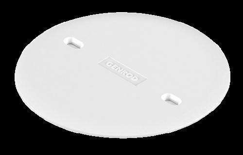 Tapa de PVC octogonal de embutir blanca - Genrod