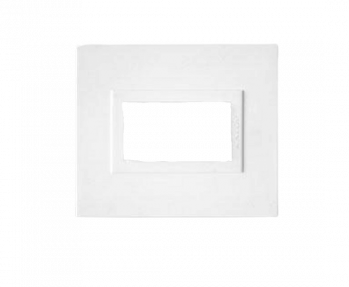 Tapa para bastidor mignón blanca, línea Zen - Kalop