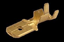Terminal de latón pala macho - Metalgrab