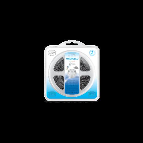 Blister de tira LED luz azul 2835 IP20 12W - Macroled