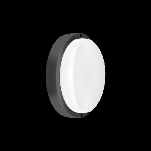 Tortuga LED 12W con aro negro y luz fría - Macroled